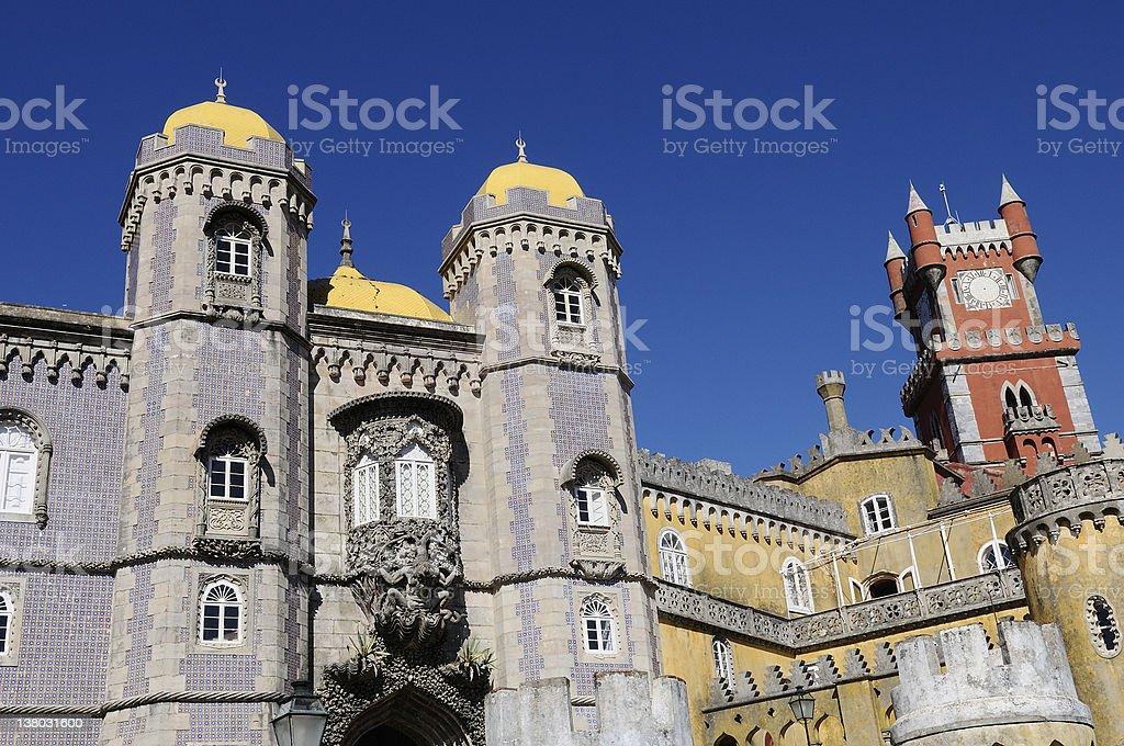 Pena castle royalty-free stock photo