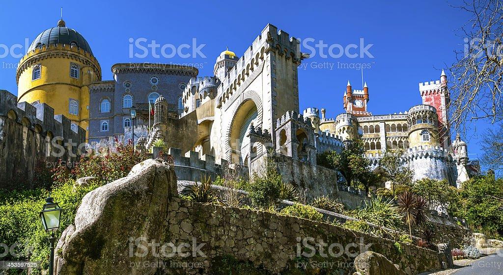 Pena, Portugal stock photo