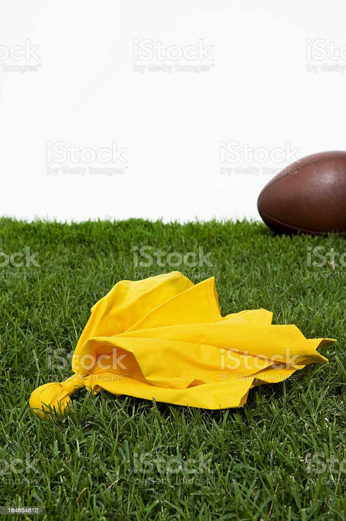Penalty Flag - American Football stock photo