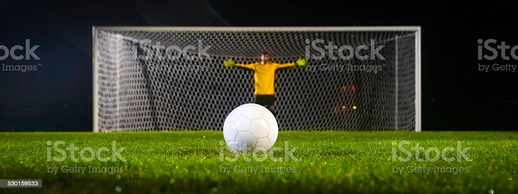 Penalty Kick stock photo