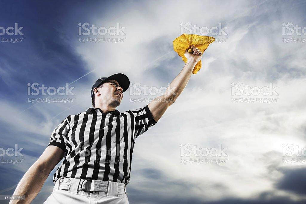 Penalty. stock photo