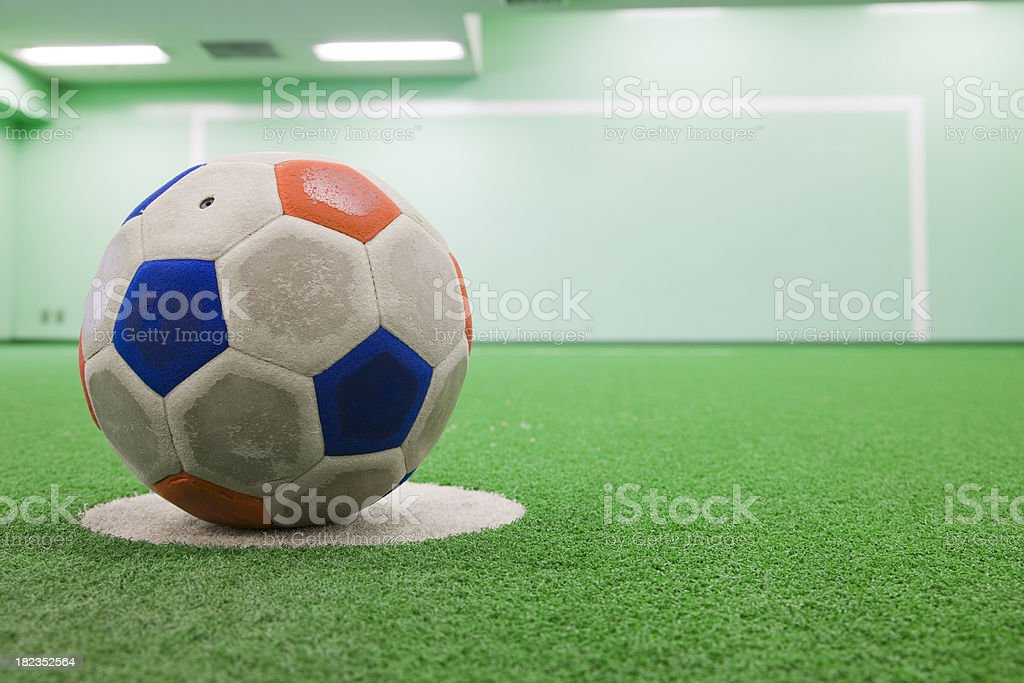 Penalty royalty-free stock photo