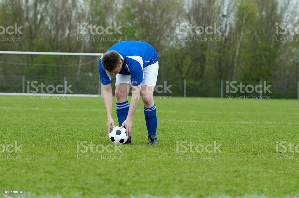 Penalty Shoot Out royalty-free stock photo
