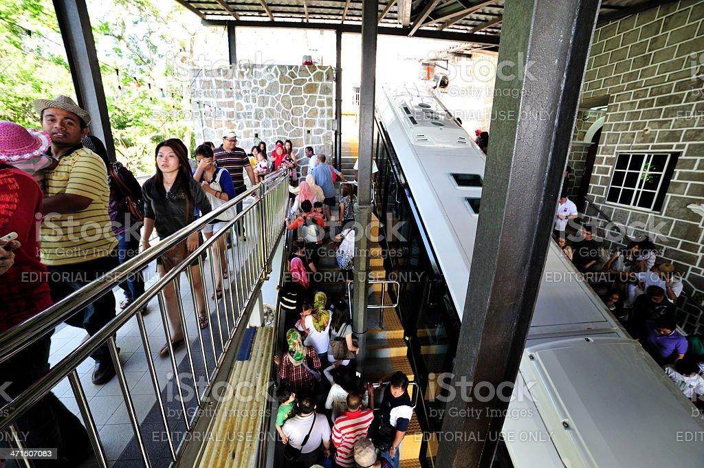 Penang Hill Funicular Railway royalty-free stock photo