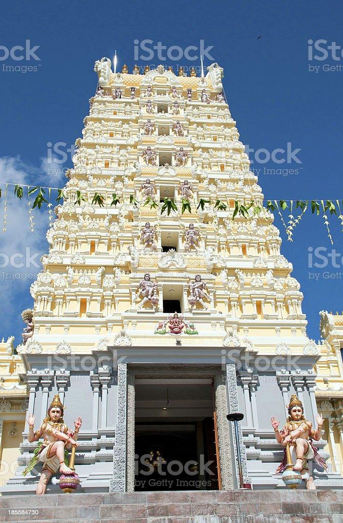 Penang hill temple stock photo