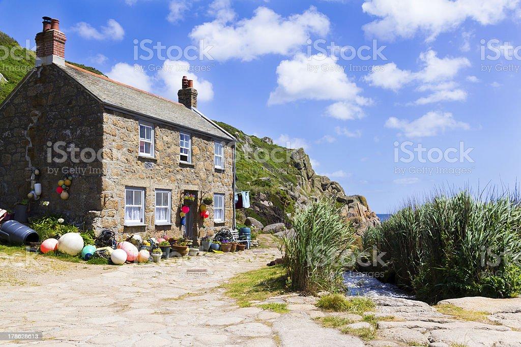 Penberth Cornwall Angleterre photo libre de droits