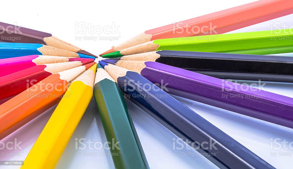 Bleistift Farbe Lizenzfreies stock-foto