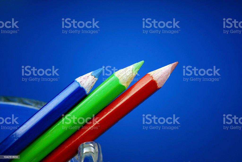 Pencil Colours stock photo
