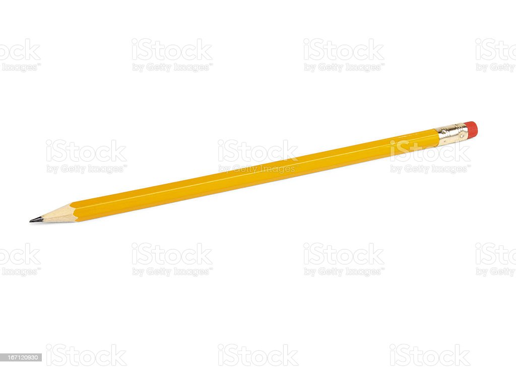 Pencil HB 2 royalty-free stock photo