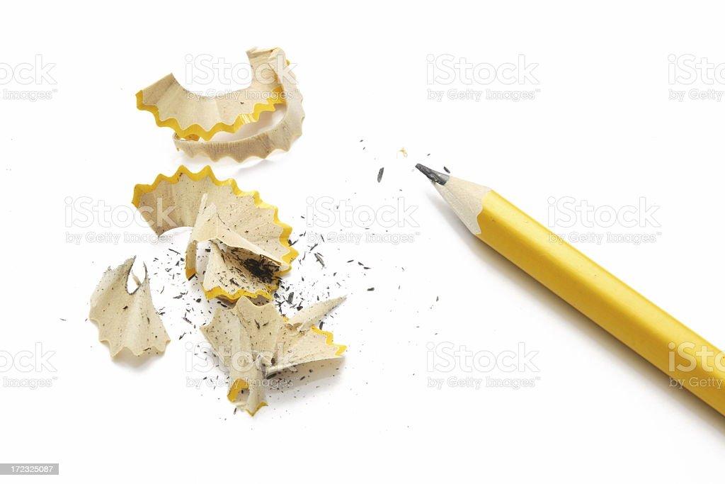 Pencil Just Sharpened stock photo