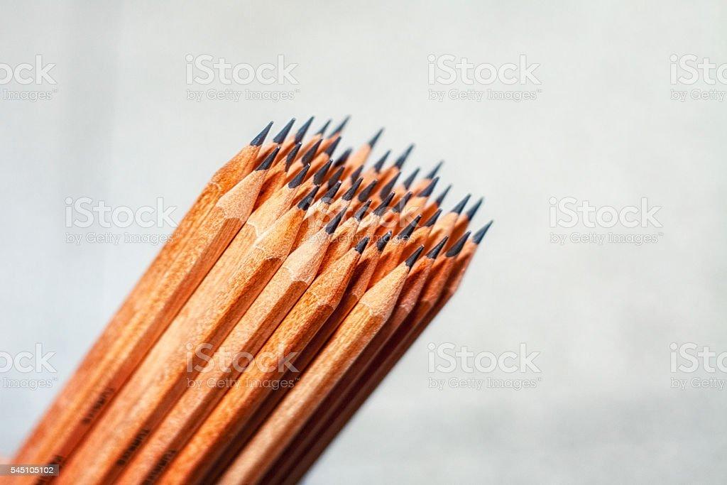 Pencil & Pencils stock photo