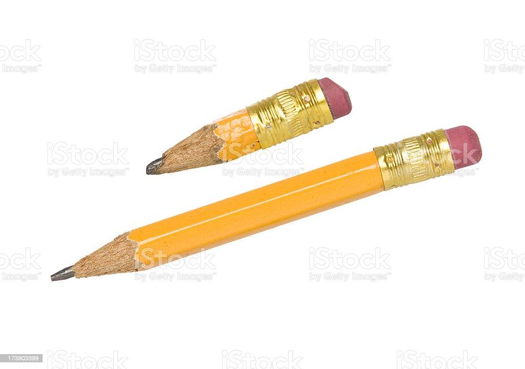Pencil Retirement stock photo
