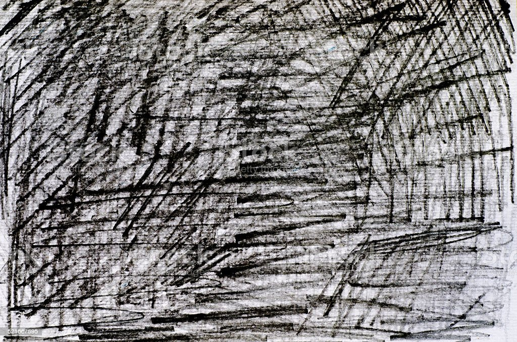 pencil scribbles background stock photo