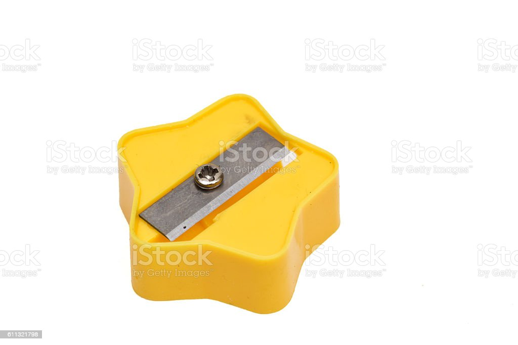 Pencil Sharpener stock photo
