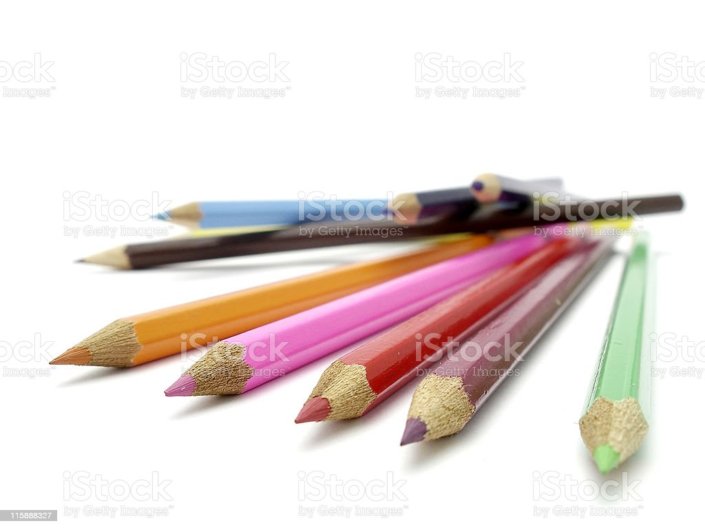 pencils 05 royalty-free stock photo