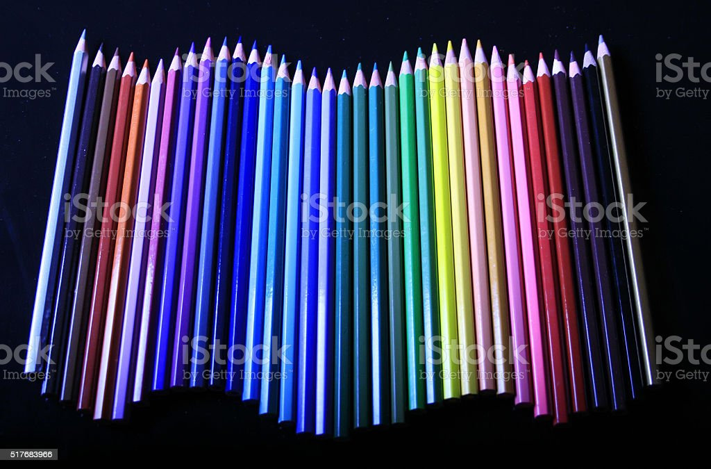 Pencils 2 stock photo