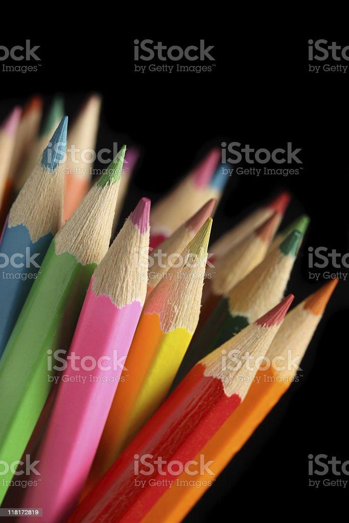 Pencils. royalty-free stock photo