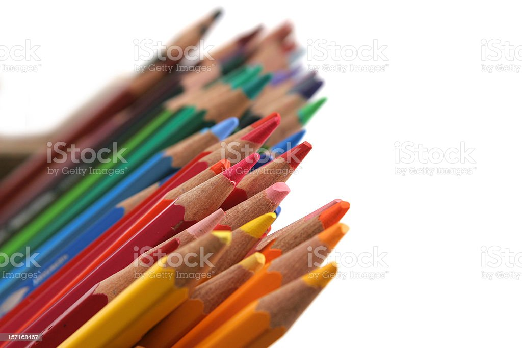 pencils royalty-free stock photo