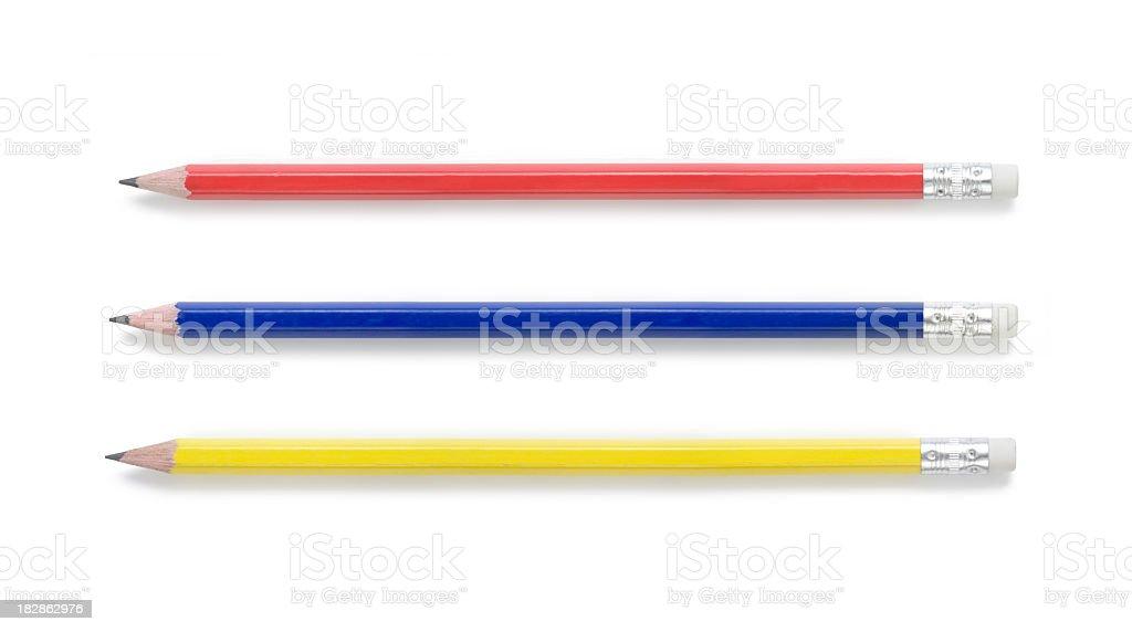Pencils royalty-free stock photo