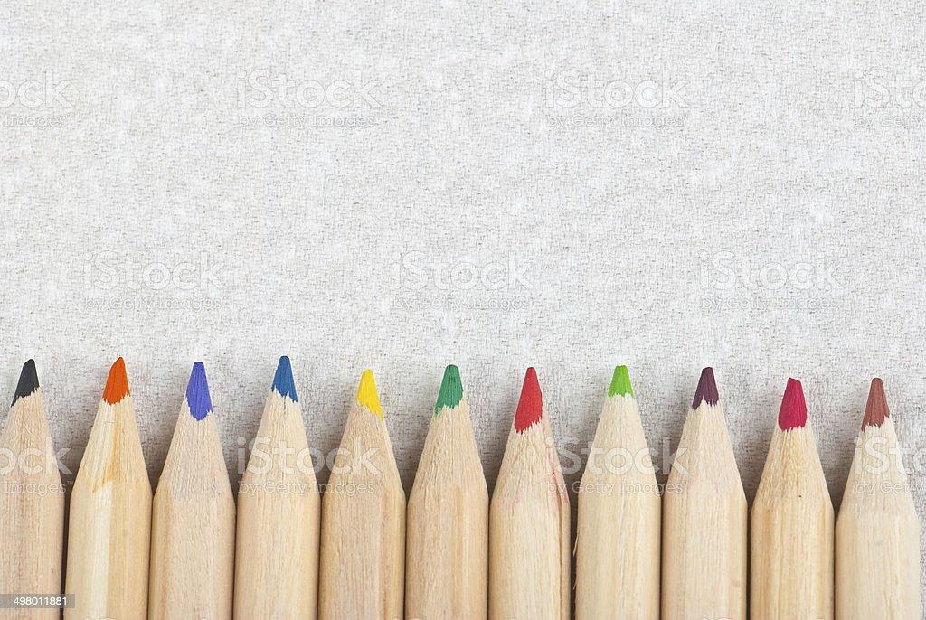 Lápices foto de stock libre de derechos