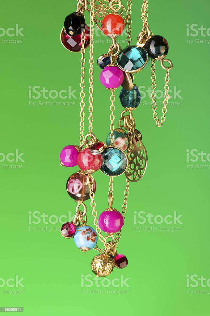 Pendant against colour gradient background royalty-free stock photo
