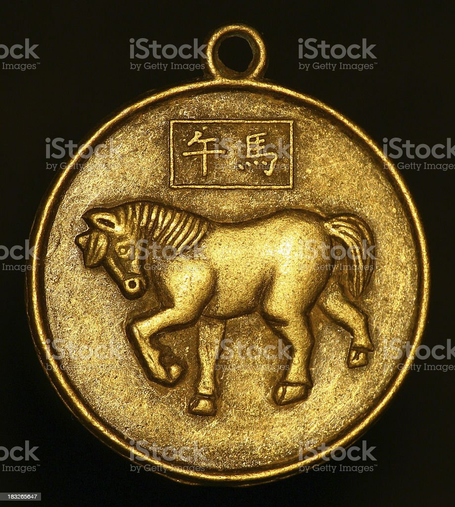 pendant - horse stock photo
