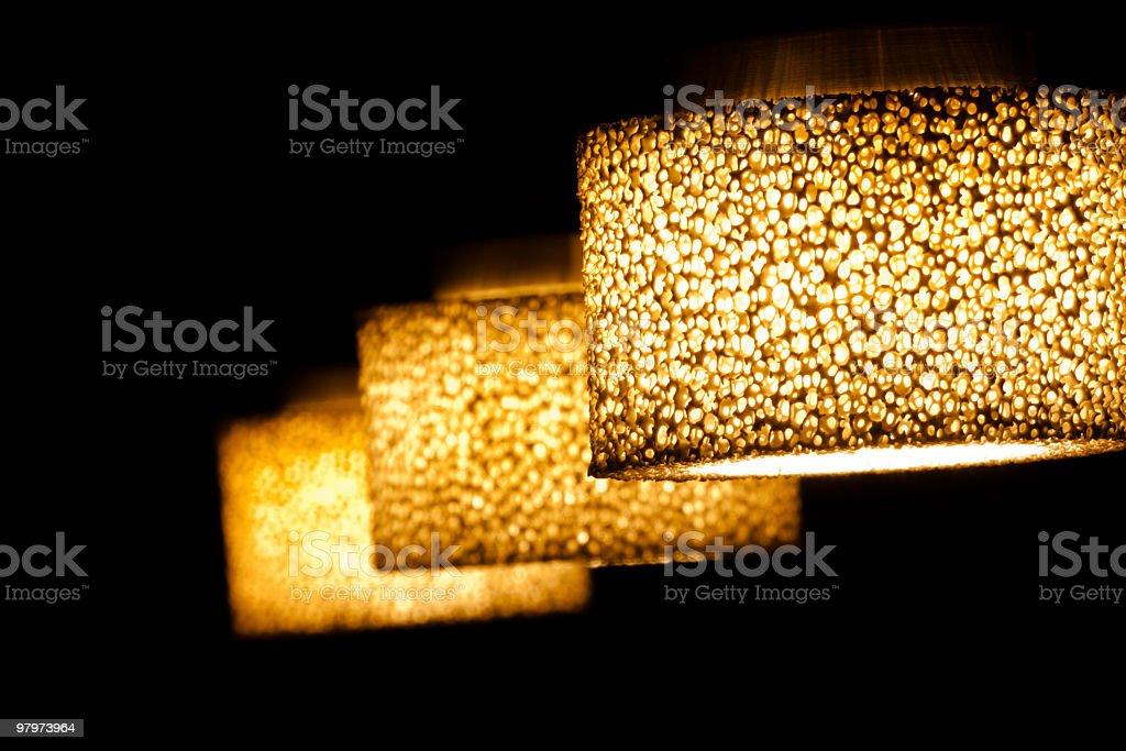 pendant lamp stock photo