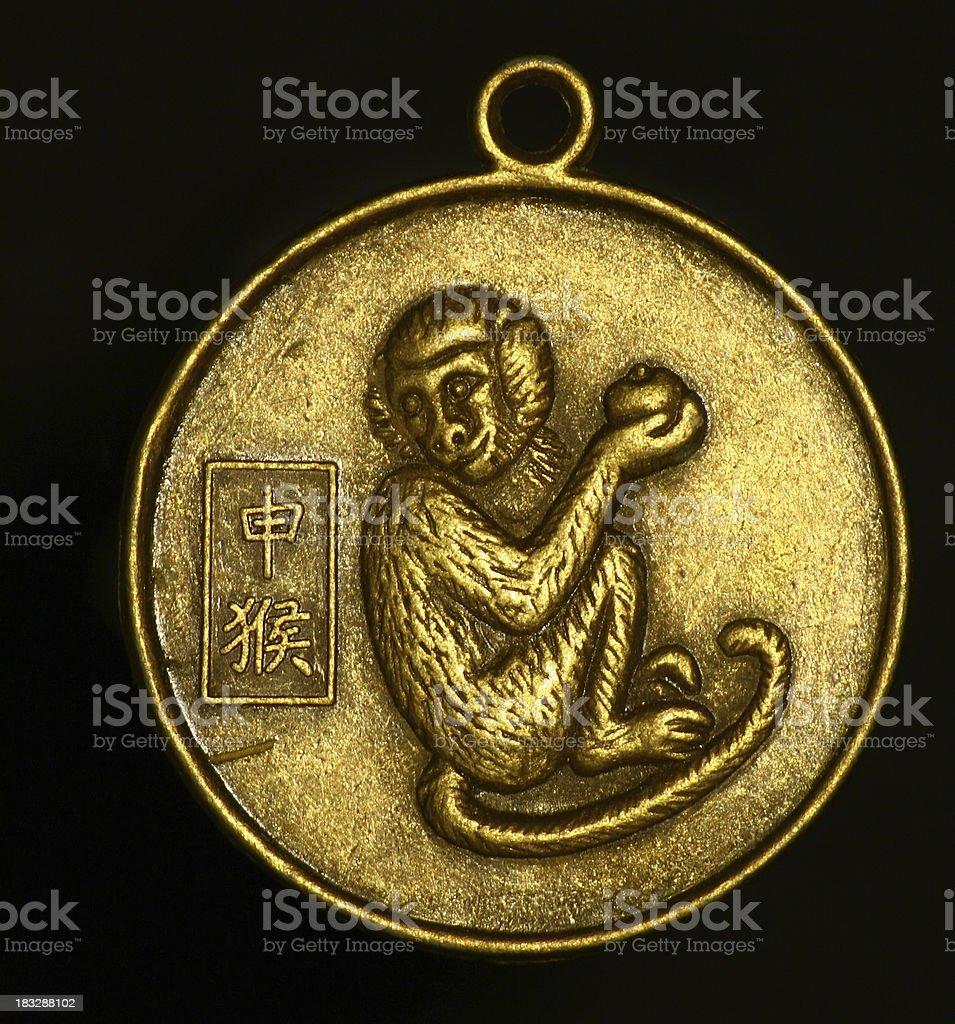 pendant - monkey stock photo
