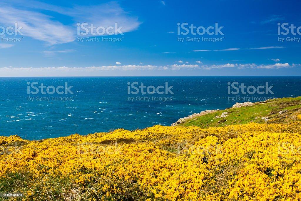 Pendeen Watch Cornwall England stock photo