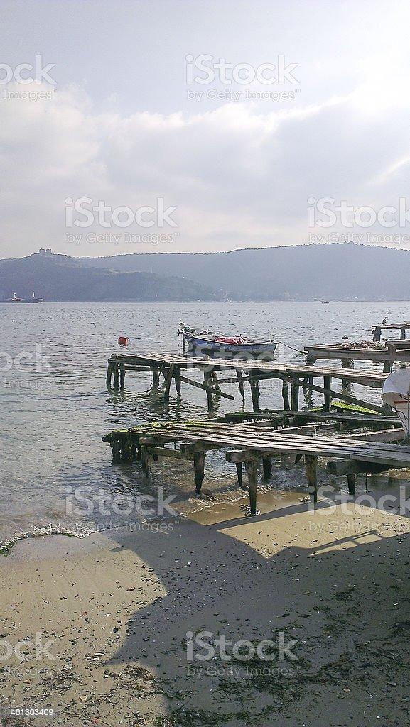 Pendik Marina a fishing harbour in Istanbul, Turkey stock photo