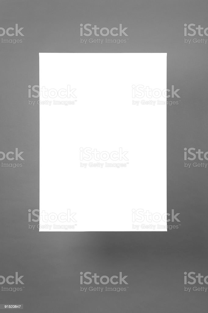 Pending canvas frame royalty-free stock photo