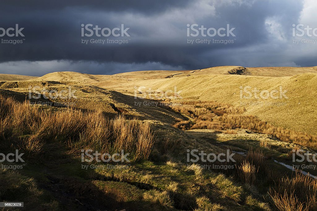 Pendle Hill royalty-free stock photo