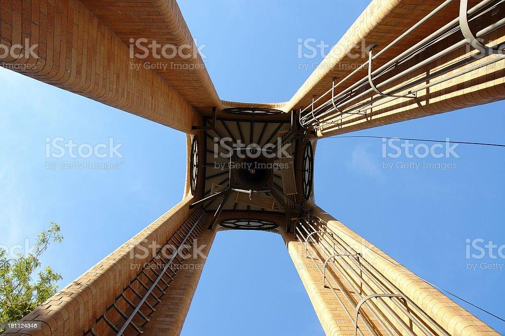 Pendleton clock tower stock photo