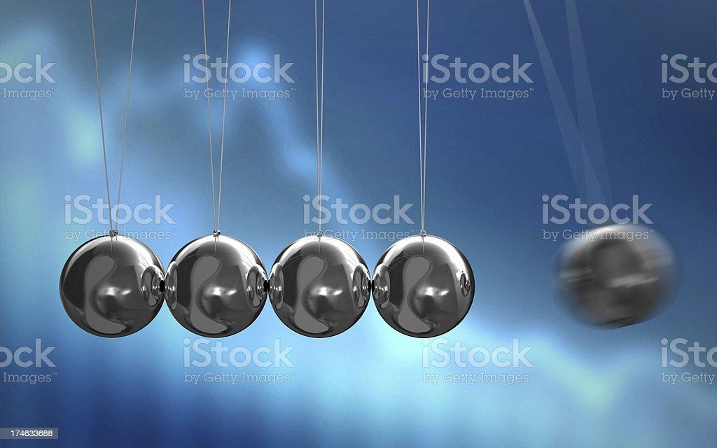 Pendulum stock photo