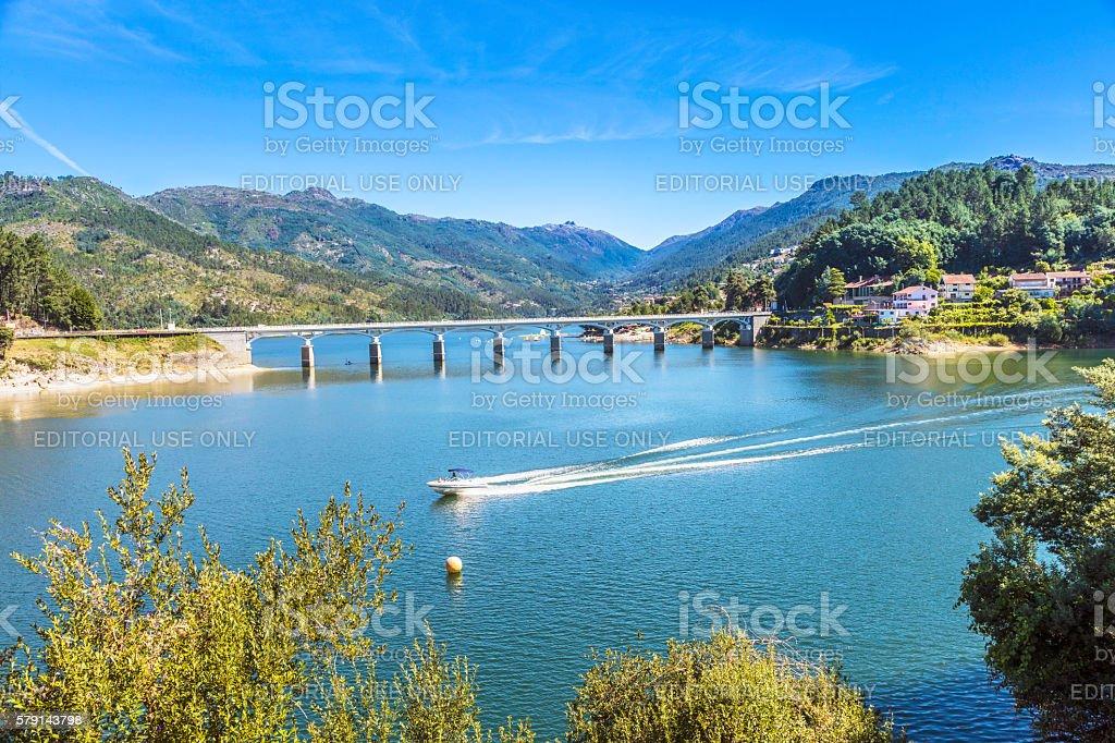 Peneda-Geres National Park in Portugal stock photo