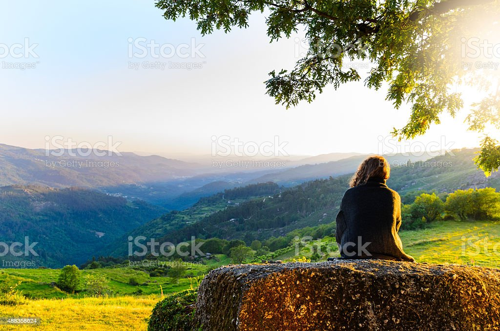 Peneda-Geres National Park stock photo