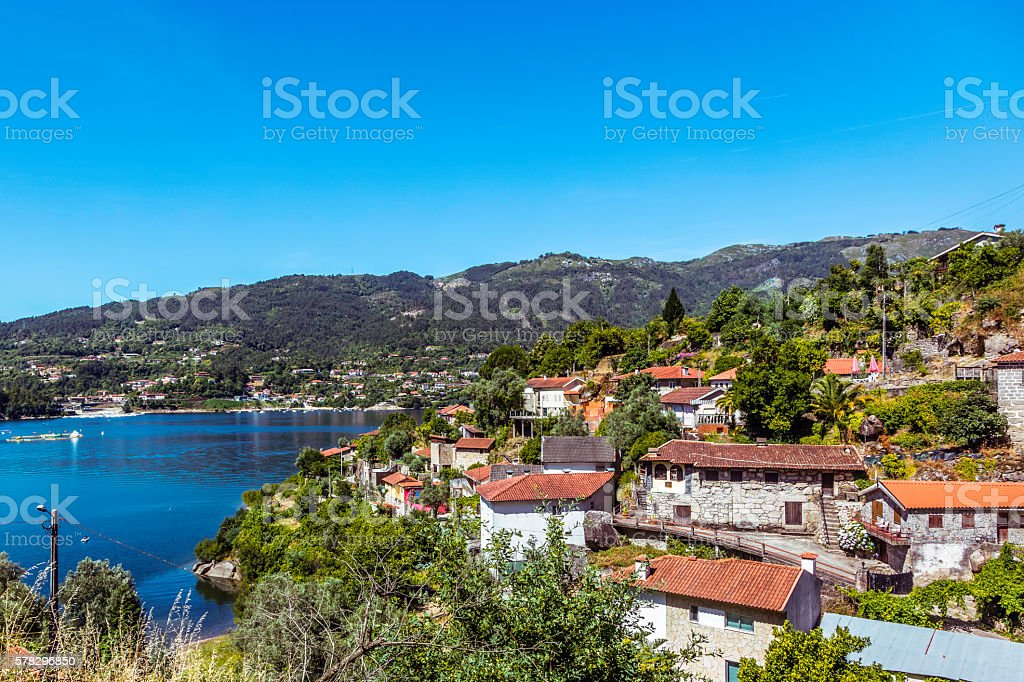Penedo-Geres National Park north of Portugal stock photo