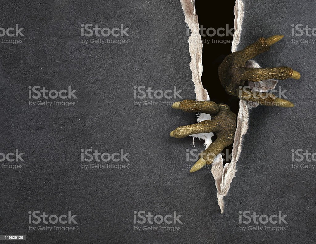 Penetration royalty-free stock photo