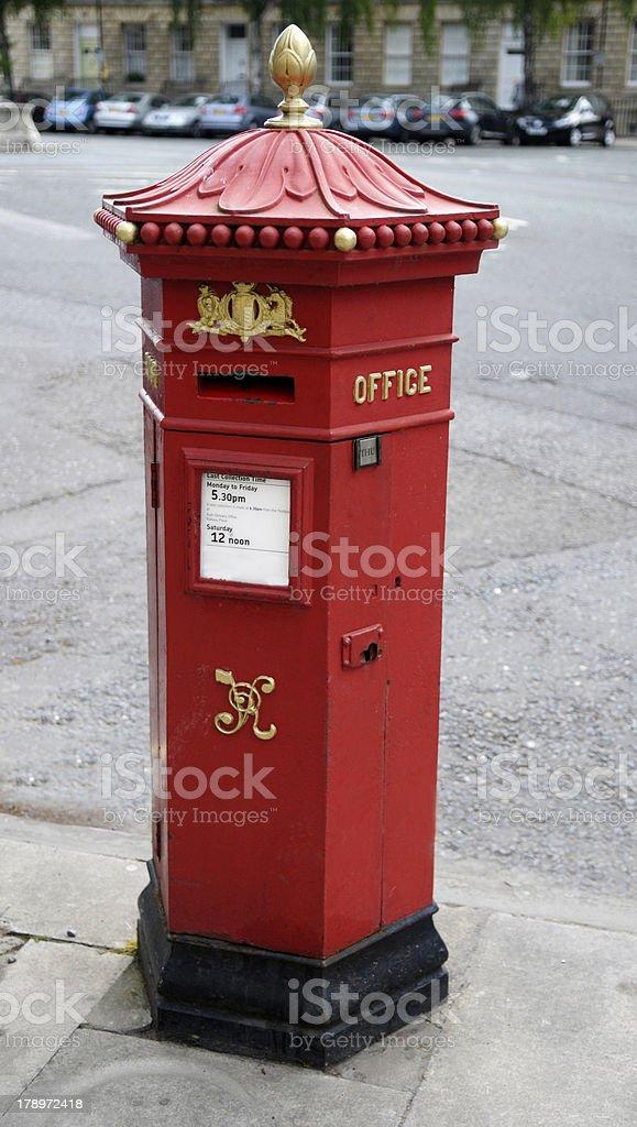 Penfold Postbox royalty-free stock photo
