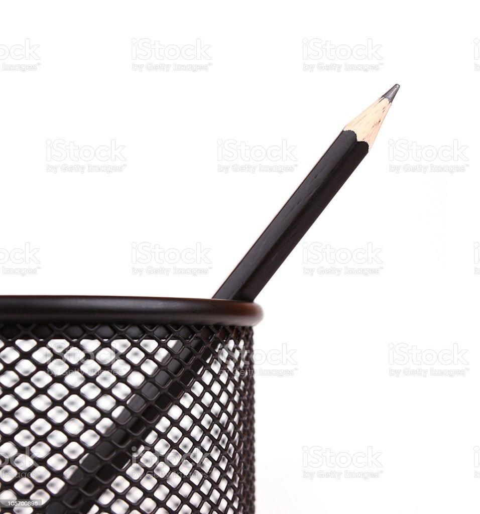 penholder royalty-free stock photo
