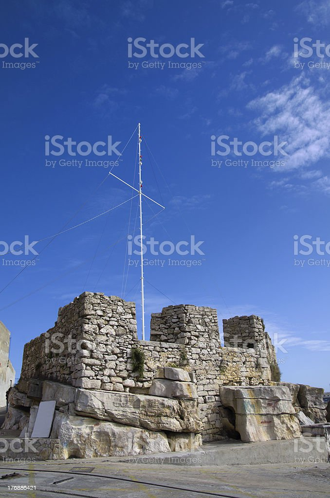 Peniche walls royalty-free stock photo