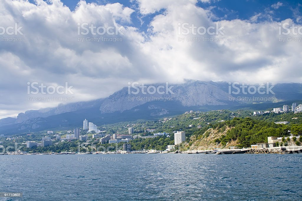 Peninsula Crimea royalty-free stock photo