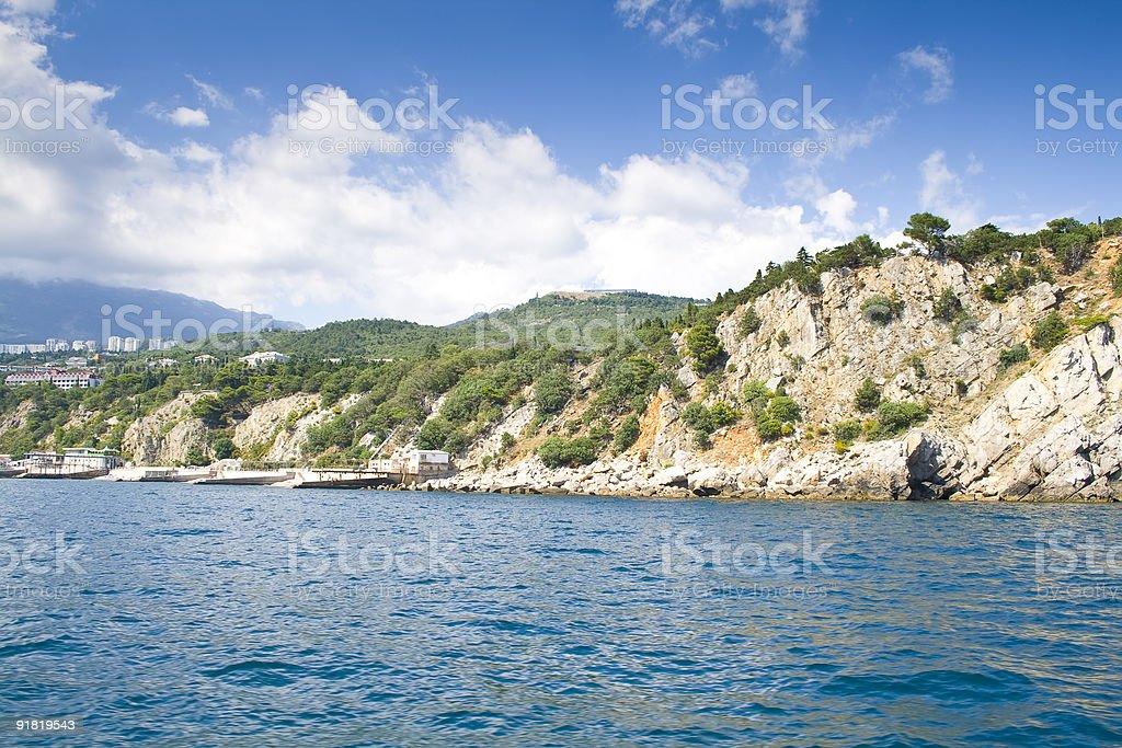 Peninsula Crimea royalty-free stock photo