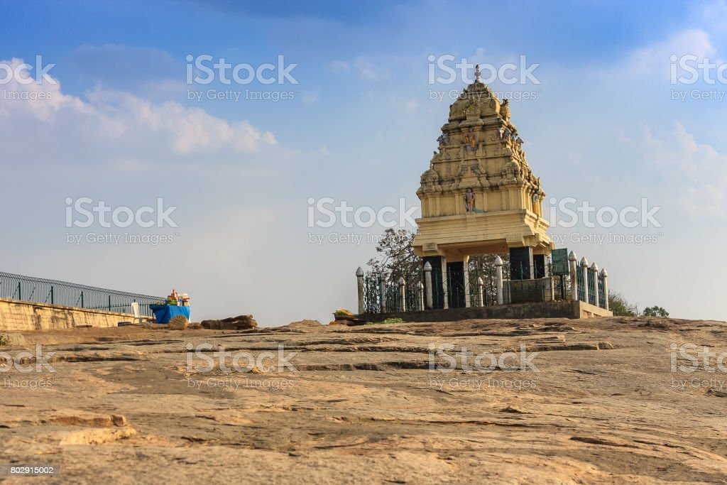 Peninsular Gneiss at Bangalore, India stock photo