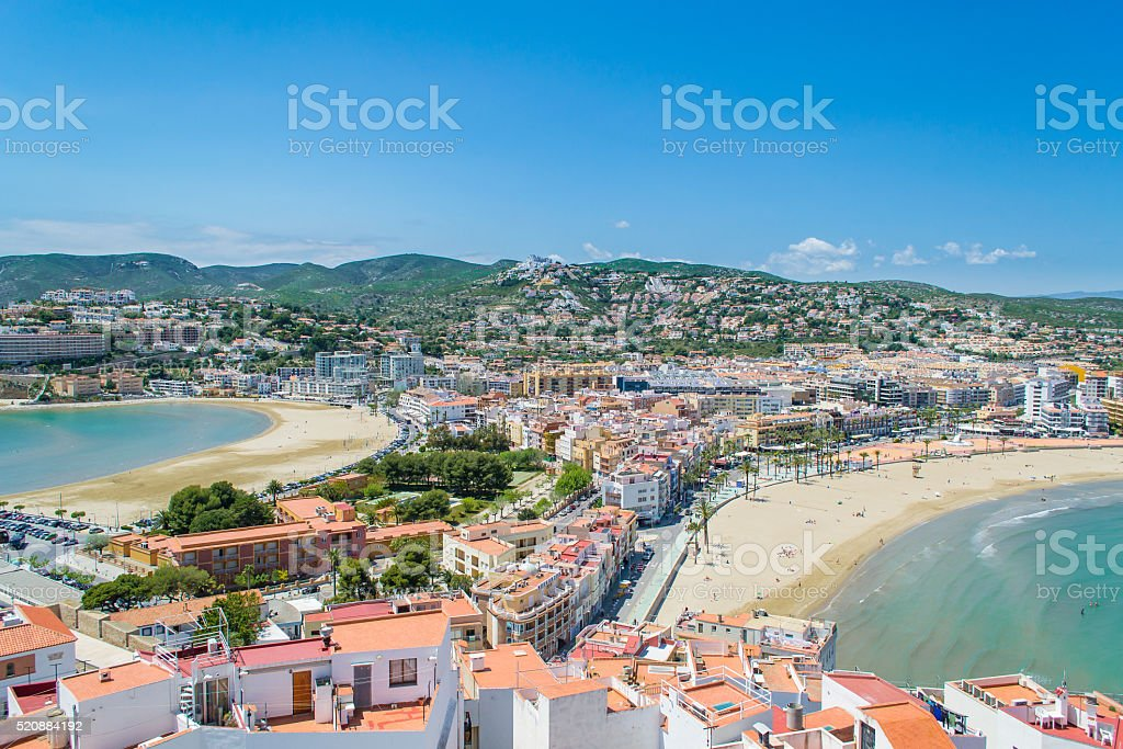 Peniscola, Spain stock photo