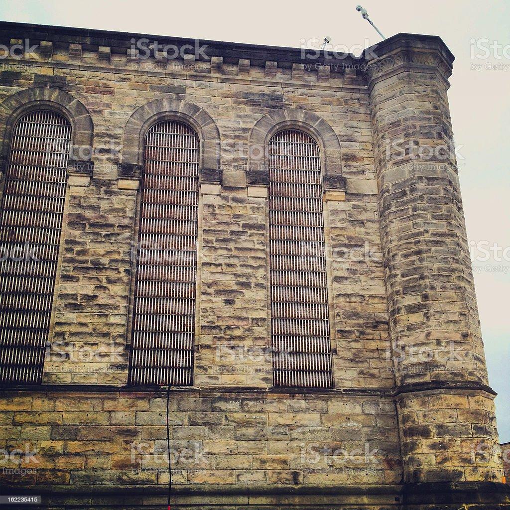 Penitentiary royalty-free stock photo