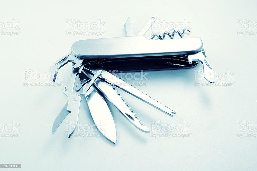 Penknife stock photo