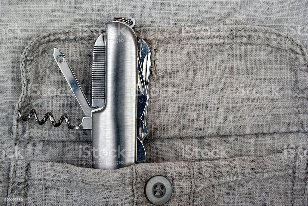 Penknife royalty-free stock photo