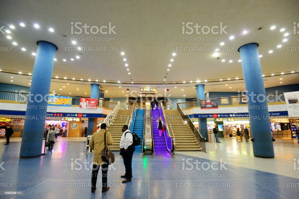 Penn Station royalty-free stock photo