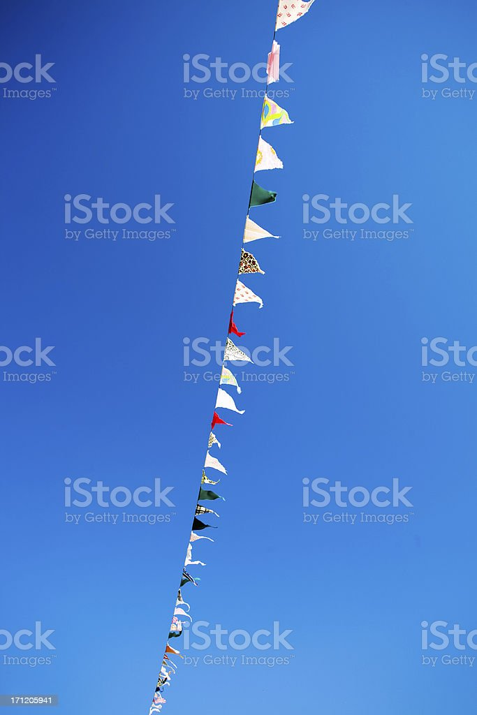 pennant banners royalty-free stock photo